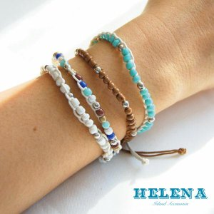 【Helena】★20140103b★【ヘレナ】天然石のブレスレット / 素敵な天然石で作ったブレスレット♪|hawaiilani-shop|04