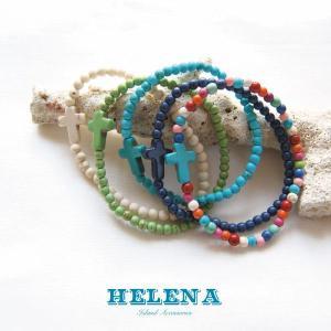 【Helena】★20140104b★【ヘレナ】天然石のブレスレット / 素敵な天然石で作ったブレスレット♪|hawaiilani-shop