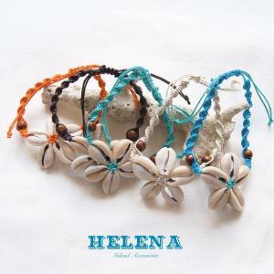 【Helena】★20140105b★【ヘレナ】天然貝のブレスレット / 素敵な天然貝で作ったブレスレット♪|hawaiilani-shop