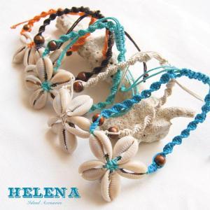 【Helena】★20140105b★【ヘレナ】天然貝のブレスレット / 素敵な天然貝で作ったブレスレット♪|hawaiilani-shop|02