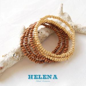 【Helena】★20140106b★【ヘレナ】天然木のブレスレット / 素敵な天然木で作ったブレスレット♪|hawaiilani-shop|02