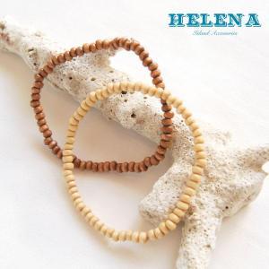 【Helena】★20140106b★【ヘレナ】天然木のブレスレット / 素敵な天然木で作ったブレスレット♪|hawaiilani-shop|04