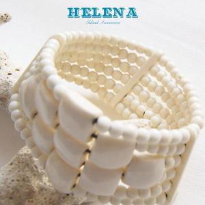 【Helena】★20140108b★【ヘレナ】ボーンブレスレット / 素敵なボーンブレス♪|hawaiilani-shop|02