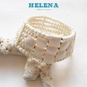 【Helena】★20140108b★【ヘレナ】ボーンブレスレット / 素敵なボーンブレス♪|hawaiilani-shop|04