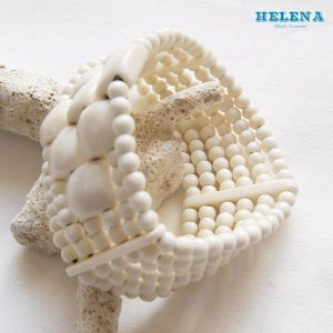 【Helena】★20140108b★【ヘレナ】ボーンブレスレット / 素敵なボーンブレス♪|hawaiilani-shop|05