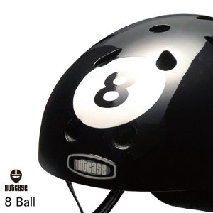 自転車用ヘルメット 子供用 大人迄 ナットケースーNutcase / ★8 Ball★/エイト・ボール/