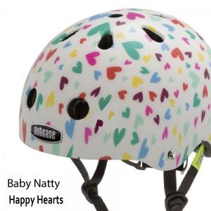 送料無料 子供用 ヘルメット 子供用自転車ヘルメット ナットケースNutcase/ ★Baby Natty-Happy Hearts★/ハッピーハート/
