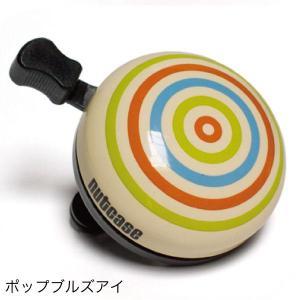 自転車用 ベル【Nutcase】 / ★Pop Bullseye★/ポップ・ブルズアイ/ 自転車用ベル【ナットケース】【ギフトにも最適!】|hawaiilani-shop