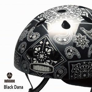 自転車用ヘルメット 子供用 大人迄 ナットケースーNutcase / ★Black Dana★/ブラック・ダナ/