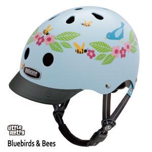 送料無料 子供用 ヘルメット 子供用自転車ヘルメット ナットケース Nutcase / ★Bluebirds Bees★/ブルーバードビーズ/