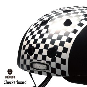 自転車用ヘルメット 子供用 大人迄 ナットケースーNutcase / ★Checkerboard★/チェッカーボード/