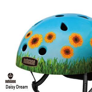 自転車用ヘルメット 子供用 大人迄 ナットケースーNutcase / ★Daisy Dream★/デイジードリーム/