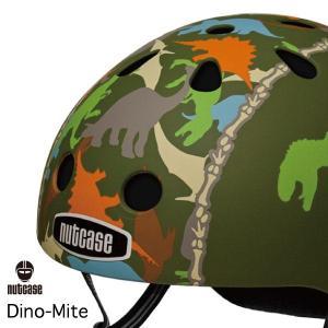 送料無料 子供用 ヘルメット 子供用自転車ヘルメット ナットケース Nutcase / ★Dino Mite★/ダイノ・マイト/