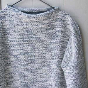 【Rag Shop】★E-309619-2★ Pacific Knit /ちょっと変わったニット素材・シンプルなカットソー ★Minnie★ 【ラグショップ】|hawaiilani-shop|02