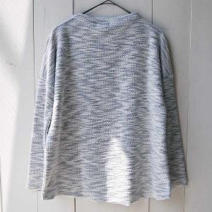 【Rag Shop】★E-309619-2★ Pacific Knit /ちょっと変わったニット素材・シンプルなカットソー ★Minnie★ 【ラグショップ】|hawaiilani-shop|04