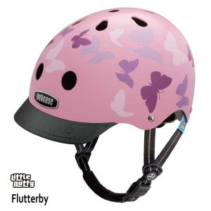 送料無料 子供用 ヘルメット 子供用自転車ヘルメット ナットケース Nutcase / ★Flutterby★/フラッターバイ/