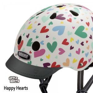送料無料 子供用 ヘルメット 子供用自転車ヘルメット ナットケース Nutcase / ★Happy Hearts★/ハッピー・ハート/