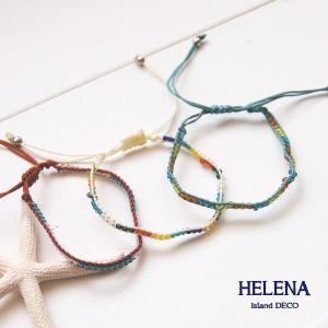 【Helena】★HELE-1502★【ヘレナ】ビーズのブレスレット / 素敵な配色のビーズブレスレット♪|hawaiilani-shop