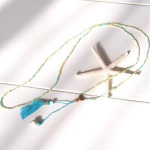 【Helena】★HELE-1509-Lime★【ヘレナ】ビーズのネックレス / 素敵なブレスレットが届きました♪|hawaiilani-shop