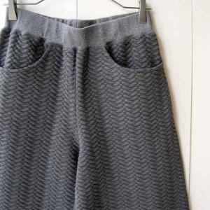 【Rag Shop】★J-702618-1★ Quilting Wide Pants/キルティングのパターンがかわいいワイドパンツ ★Maribel★ 【ラグショップ】|hawaiilani-shop|02