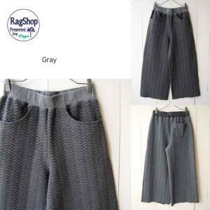【Rag Shop】★J-702618-1★ Quilting Wide Pants/キルティングのパターンがかわいいワイドパンツ ★Maribel★ 【ラグショップ】|hawaiilani-shop|06