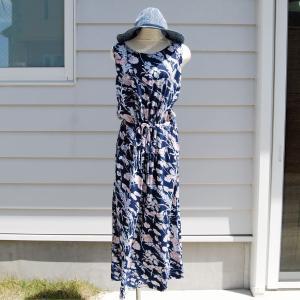 【Rag Shop】★K006003★しなやかなプリント素材 /  素敵なドレス♪[Felipa]ラグショップ|hawaiilani-shop