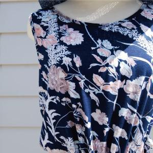【Rag Shop】★K006003★しなやかなプリント素材 /  素敵なドレス♪[Felipa]ラグショップ|hawaiilani-shop|02