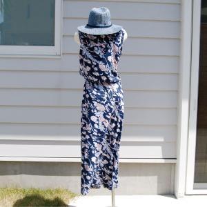 【Rag Shop】★K006003★しなやかなプリント素材 /  素敵なドレス♪[Felipa]ラグショップ|hawaiilani-shop|04