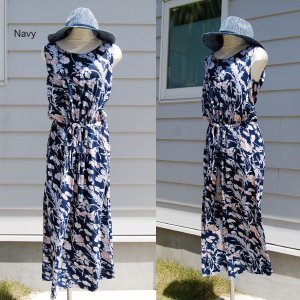 【Rag Shop】★K006003★しなやかなプリント素材 /  素敵なドレス♪[Felipa]ラグショップ|hawaiilani-shop|06