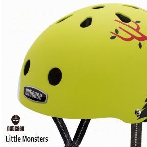 子供用 キッズ自転車ヘルメット ナットケースーNutcase / ★Little Monsters★/リトルモンスターズ/リトルナッティ|hawaiilani-shop