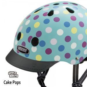 送料無料 子供用 ヘルメット 子供用自転車ヘルメット ナットケース Nutcase / ★Cake Pops★/ケーキ・ポップス/