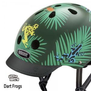 送料無料 子供用 ヘルメット 子供用自転車ヘルメット ナットケース Nutcase / ★Dart Frogs★/ダート・フロッグス/