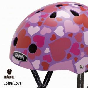 送料無料 子供用 ヘルメット 子供用自転車ヘルメット ナットケース Nutcase / ★Lotsa Lave★/ロッサラヴ/リトルナッティ|hawaiilani-shop