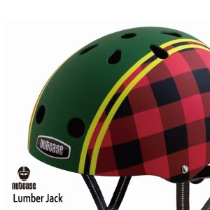 自転車用ヘルメット 子供用 大人迄 ナットケースーNutcase / ★Lumber Jack★/ランバージャック/ 世界基準の安心ヘルメット|hawaiilani-shop