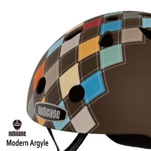 自転車用ヘルメット 子供用 大人迄 ナットケースーNutcase / ★Modern Argyle★/モダン・アーガイル/ 世界基準の安心ヘルメット|hawaiilani-shop