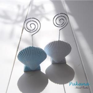 【人気商品】【PUKANA】PUMR-1560   シェルのメモホルダー  【プカナ】|hawaiilani-shop