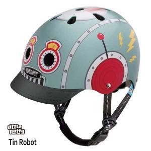 子供用 キッズ自転車ヘルメット ナットケースーNutcase / ★Tin Robot★/ティンロボット/ 世界基準の安心ヘルメット