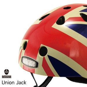 自転車用ヘルメット 子供用 大人迄 ナットケースーNutcase / ★Union Jack★/ユニオン・ジャック/ 世界基準の安心ヘルメット|hawaiilani-shop
