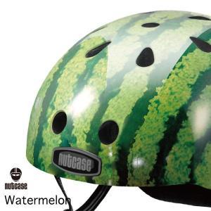 送料無料 子供用 ヘルメット 子供用自転車ヘルメット ナットケース Nutcase / ★Watermelon★/ウォーター・メロン/
