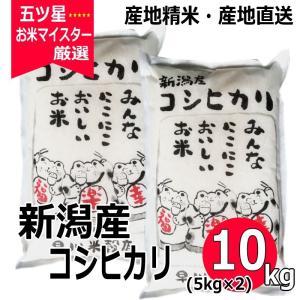お米 コシヒカリ 5kg ×2袋 10kg 新潟県産コシヒカリ|haya-kome