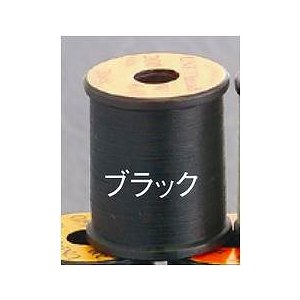 TIEMCO ティムコ ユニ 8/0 200yds ユニスレッド ブラック [20個まで定形外送料120円対応]|haya
