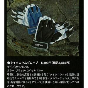 SMITH スミス タイタニウムグローブ ブラック M [20個まで定形外送料120円]|haya