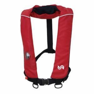高階救命器具(タカシナ) 自動膨張救命胴衣 BSJ-2420RS レッド [定形外送料250円]|haya