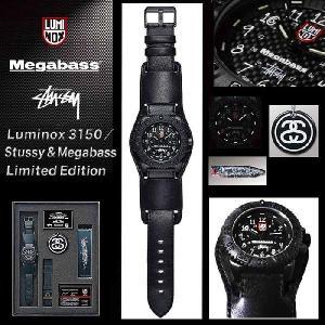 メガバス (Megabass) トリプルコラボウォッチ Luminox3150|haya