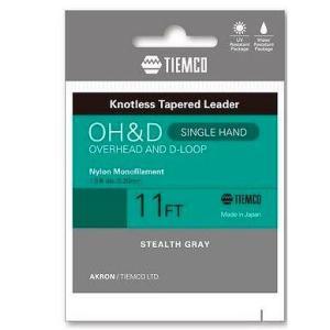 TIEMCO ティムコ OH&Dリーダー シングル 11FT 5X [5枚セット] [10個まで定形外送料120円対応]|haya