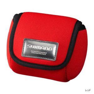 SHIMANO シマノ スプールガード シングル PC-018L レッド L [定形外送料120円対応]|haya