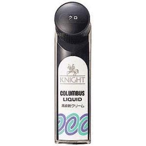 コロンブス ナイトリキッド ツヤ革専用液体靴クリーム 黒 [5個まで定形外送料120円対応]|haya