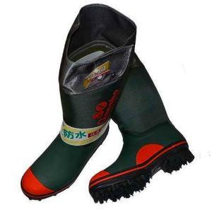 ミツウマ 岩礁 防寒 超強力 スパイク 長靴 24〜28cm|haya