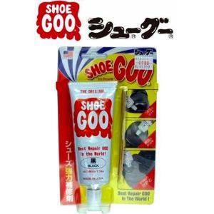 SHOEGOO シューグー シューズ強力補修剤 100g ブラック [定形外送料120円対応]|haya