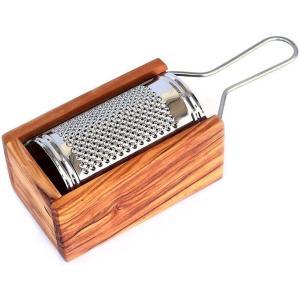イタリアArte in Olivo社のオリーブウッドのチーズおろし(BOXタイプ)です。オリーブの木...